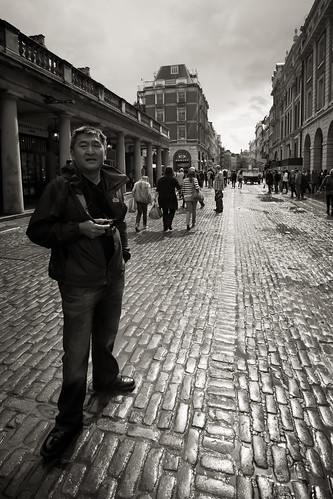 570/1000 - Will Cheung in Covent Garden by Mark Carline