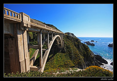 Massive! (sathellite) Tags: california bridge beach rock creek 1932 bay monterey big highway arch pacific coastal single sur span bixby pristine adversity flickrdiamond shishirsathe shishirsathephotography
