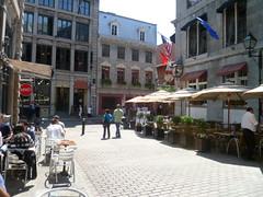 Sidewalk cafe