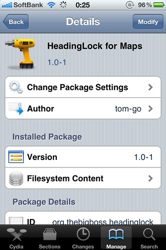HeadingLock for Maps