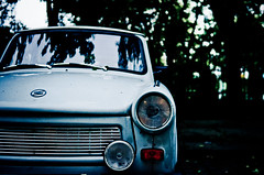 Trabi (green.pit) Tags: reflection berlin car vintage germany deutschland nikon europa europe f14 14 capital sigma dslr trabant prenzlauerberg dx trabi 30mm 2011 3014 d7000 nikond7000 pitgreenwood