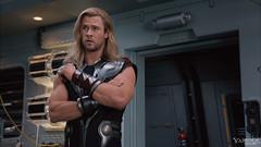 110729(2) - 電影《The Avengers 復仇者聯盟》公開最新預告片和大量場面劇照,將在2012年5月4日全球上映! 3 雷神索爾 Thor