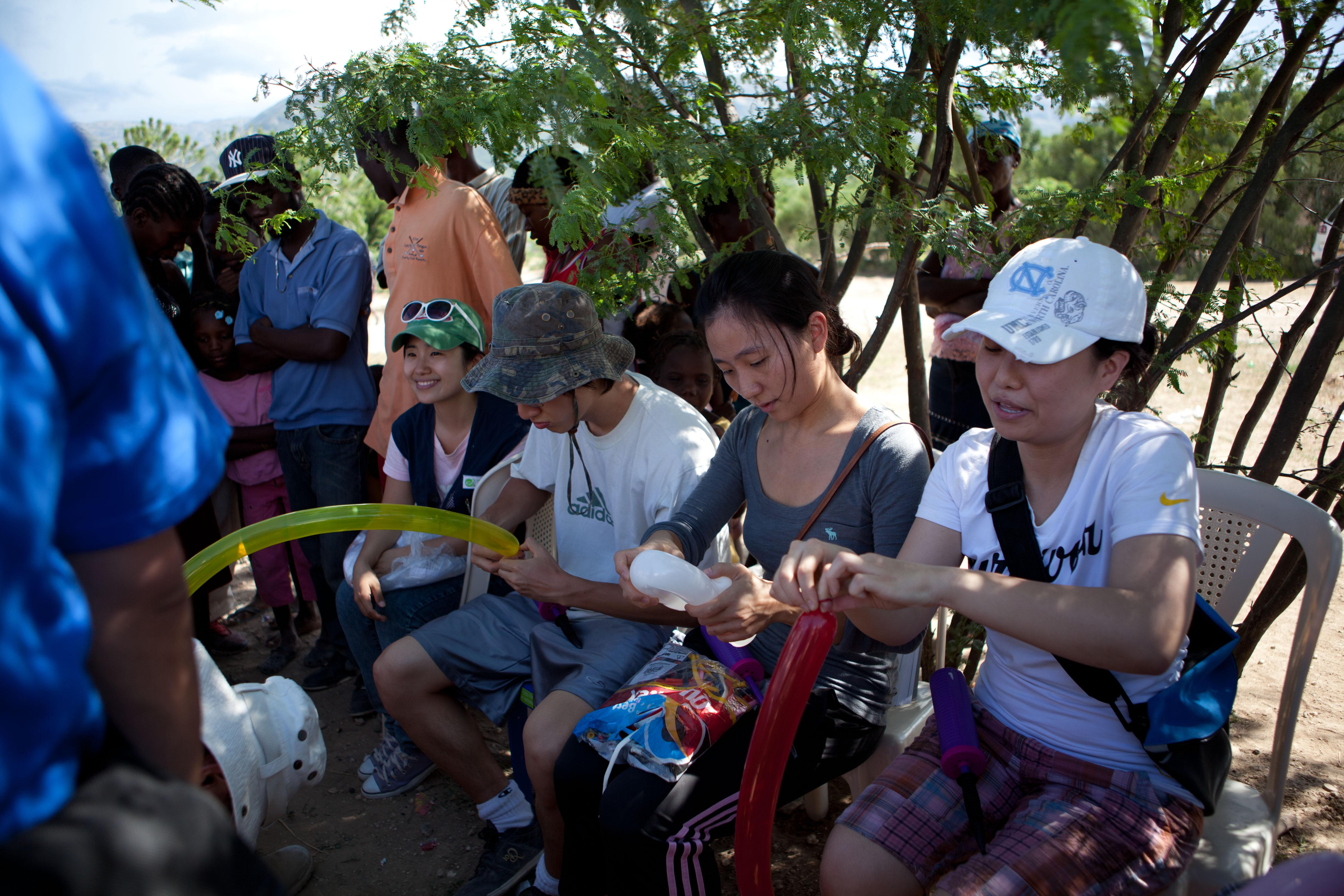 2011 아이티단기선교 어린이사역 (19)