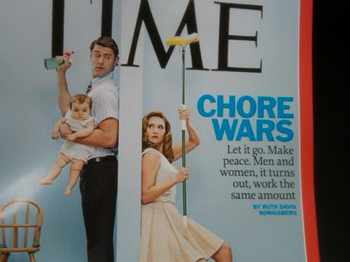 Time Magazine Men & Women Work Same