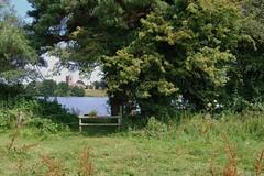 Marbury, Cheshire 260711 DSC_0273 (Leslie Platt) Tags: church village cheshire straightened marbury bigmere exposureadjusted cheshireeast