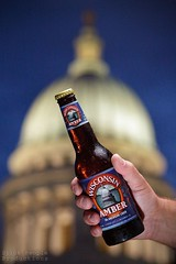 Capital Brewery's Wisconsin Amber Beer (StickPeopleProd) Tags: usa beer madison wi capitoldome capitalbrewery bc32 wisconsinale