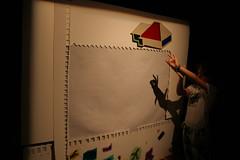 Detsk letn sympxium: Svetlo (Stanica ilina-Zrieie) Tags: light summer kid education attic symposium svetlo letn vzdelvanie detsk sympzium zani