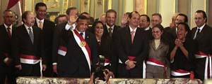 Peru's new President Ollanta Humala was sworn in recently in this South American nation. by Pan-African News Wire File Photos