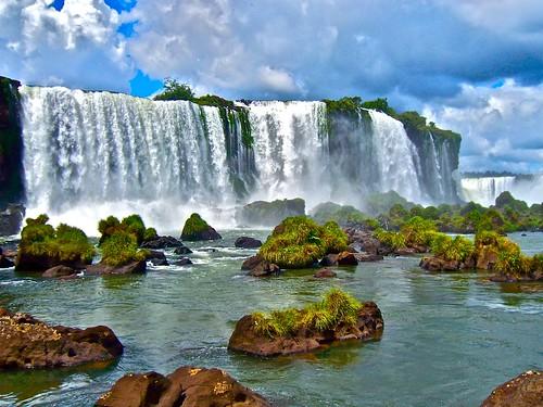 [フリー画像] 自然・風景, 滝, アルゼンチン共和国, 201108040700