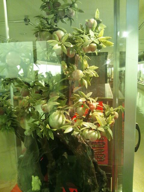飛騨大鍾乳洞の秘宝館部分の展示の写真