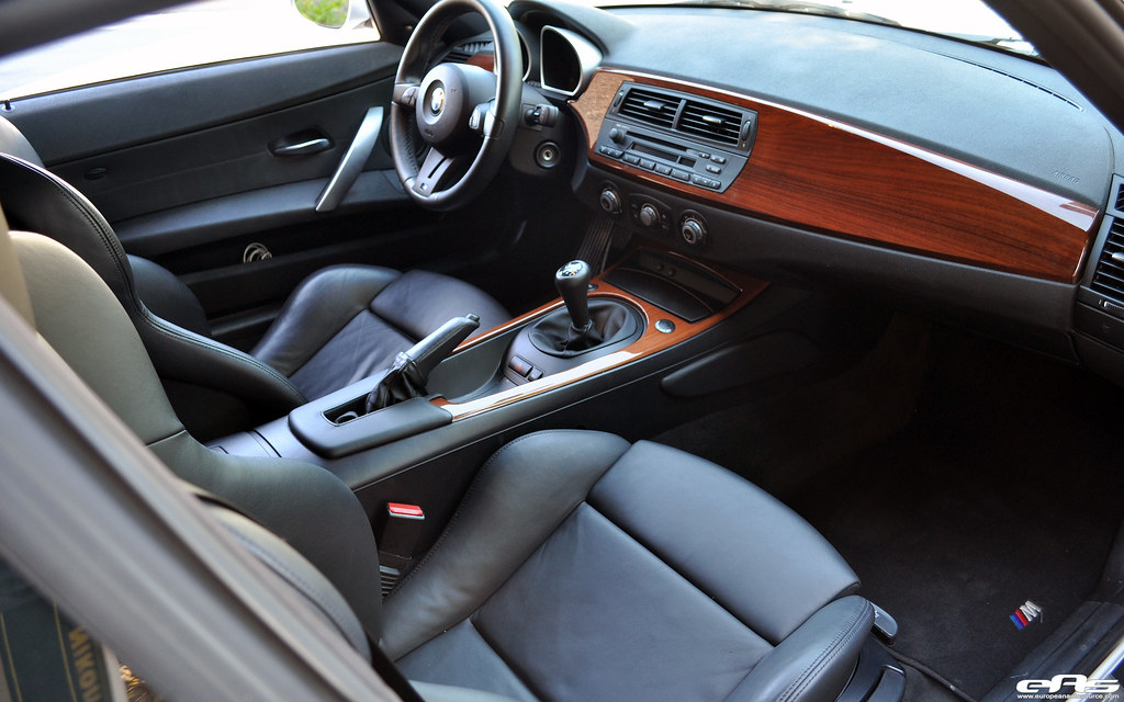 Z4m Madeira Walnut Wood Interior Dash Shifter Console Trim