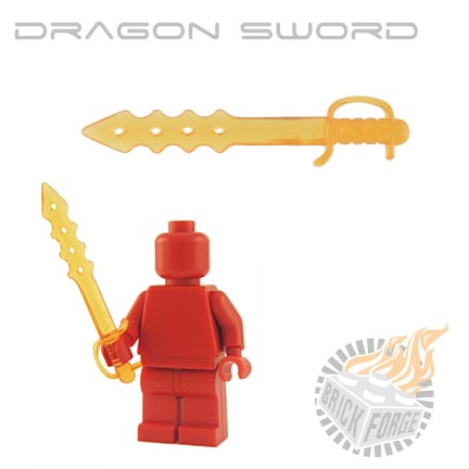 Dragon Sword (of Fire) - Trans Orange