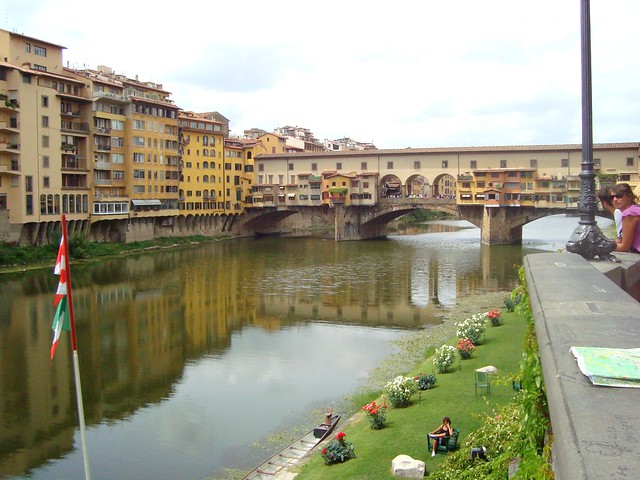 The Ponte Vecchio Bridge, Florence