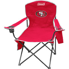 San Francisco 49ers Tailgate & Camping Cooler Chair