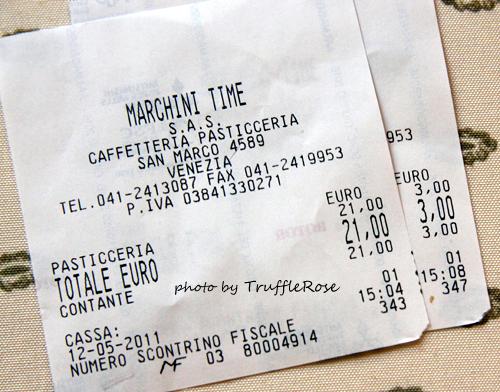 Pasticceria Marchini 烘培店-Venice-110512
