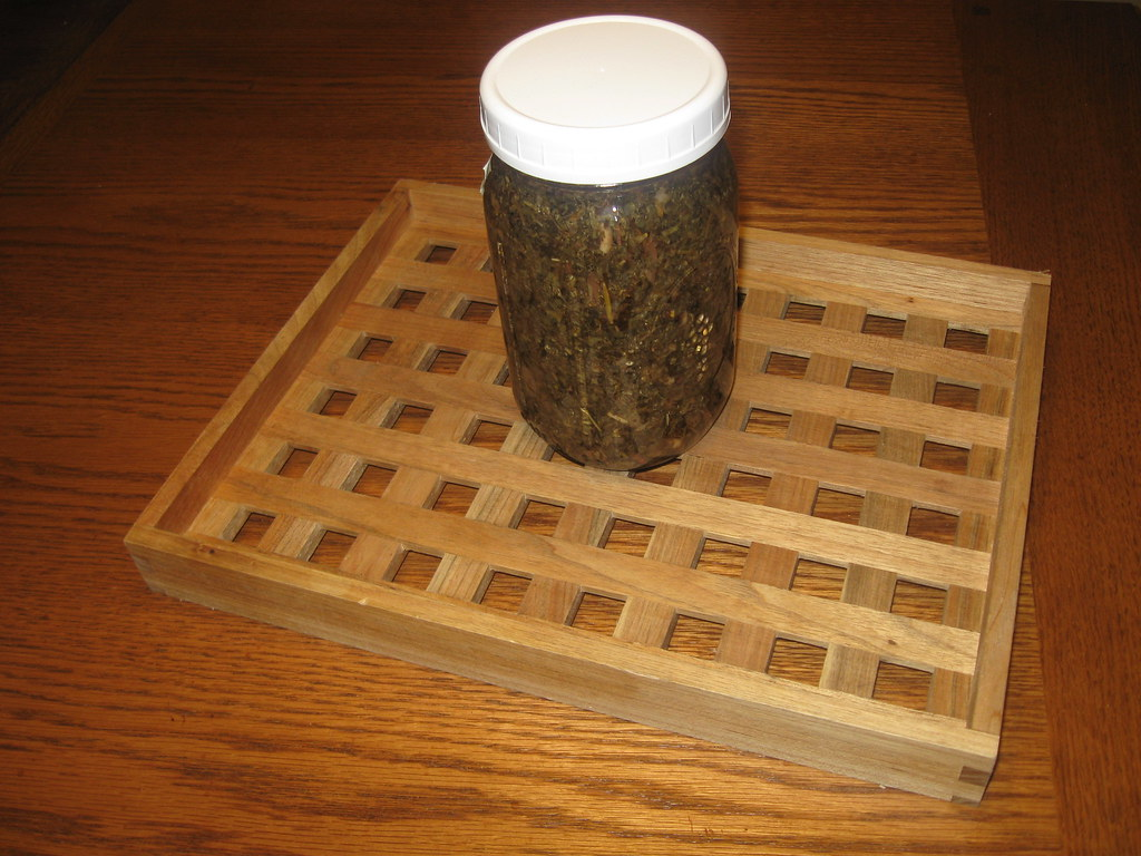 Tray for Herbal Concoctions