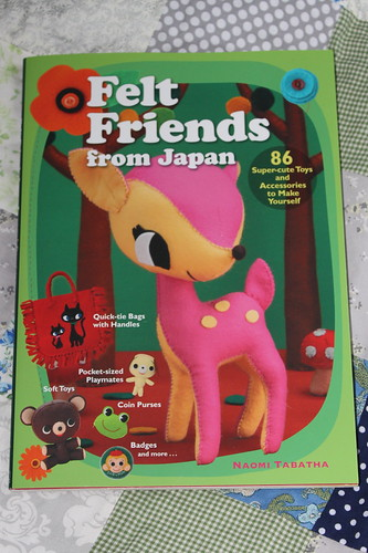 Felt friends from Japan book