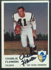 1961 Fleer - 156 - Charlie Flowers