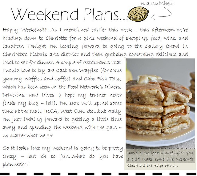 weekend plans 8.4