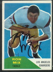 1960 Fleer - 118 - Ron Mix