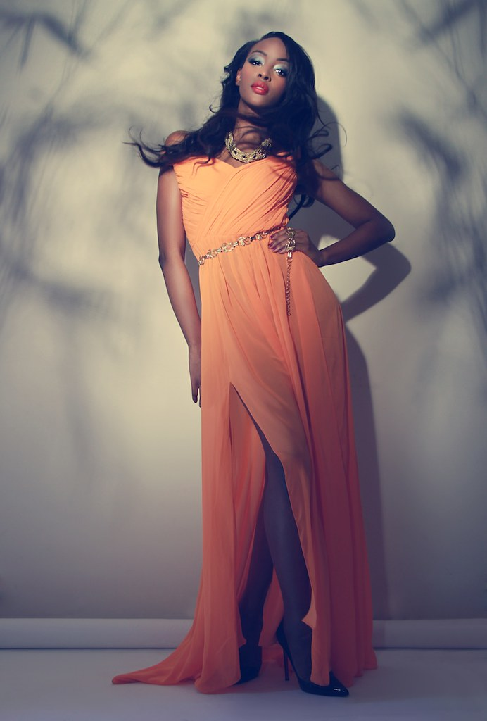 citrine dress