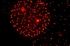 Bastille Bash (JeevesWilliams) Tags: france colour fireworks south southern castelsarrasin