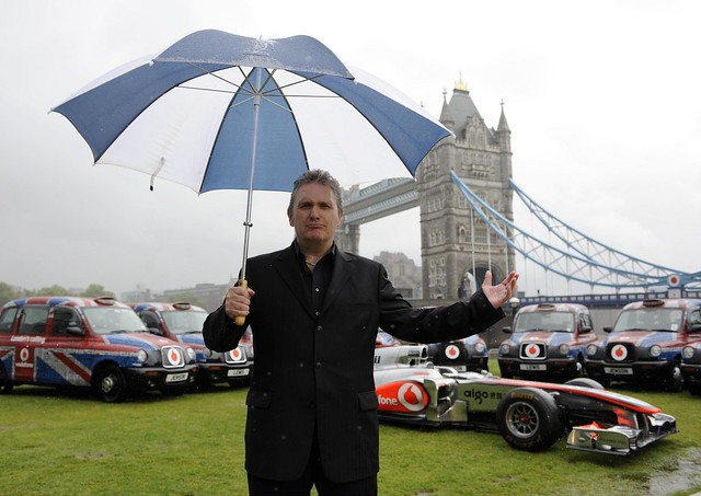 Jim Munro and a McLaren F1 car