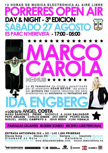 27.08.2011 Marco Carola,Carlos Simón,iban Reus @Porreres Open Air 2011 6012980288_65dd1b89e8