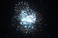 Blue (ambeanerxcore) Tags: day texas fireworks 4 4th july independence denton unt