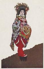 Tayuu - a Japanese courtesan (noel43) Tags: japan japanese district prostitute prostitution redlight pleasure meiji courtesan quaters yoshiwara oiran tayu tayuu kamuro
