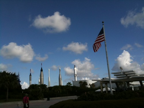 Approach to KSC Visitor Center