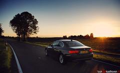 Sunset iDrive.. (Luuk van Kaathoven) Tags: sunset photoshoot bmw van dsseldorf coupe coup idrive luuk 320i luukvankaathovennl rijtestennl kaathoven