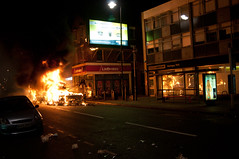 Tottenham Riots - 6th August 2011 (suburbanslice) Tags: uk england london police solidarity tottenham northlondon londonriot londonriots ukriot ukriots londonriots2011 tottenhamriots tottenhamriot englishriots londonriot2011 englandriots ukriot2011 ukriots2011 englandriot englishriot