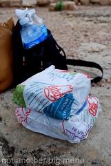 Las Vegas, Nevada - Grand Canyon tour sandwich