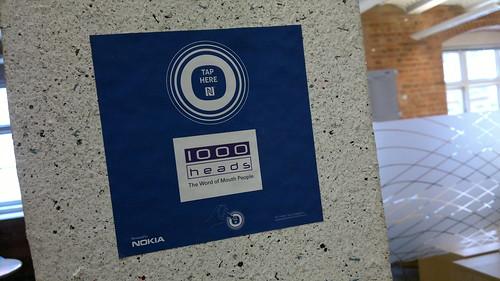 NFC Hub @ 1000heads