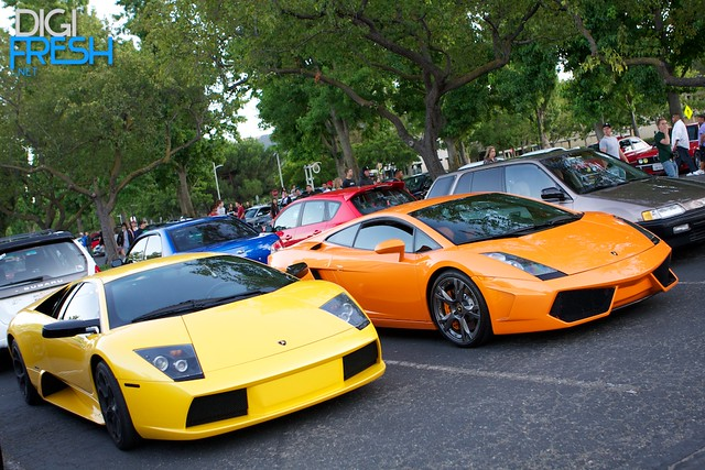 BIG Stoneridge Meet - Lambo's