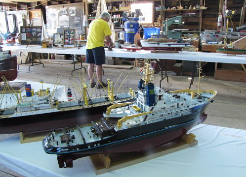 Model Ships, The Richmond Maritime Festival 2011 at the Britannia Heritage Shipyard in Steveston, BC