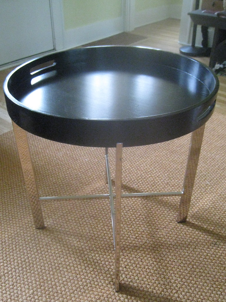 Modern Chrome Table