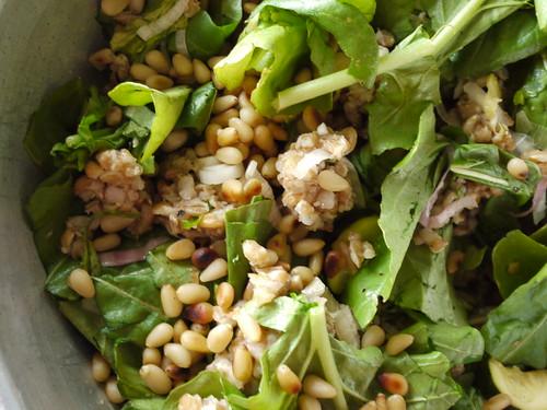 spelt zucchini salad ii