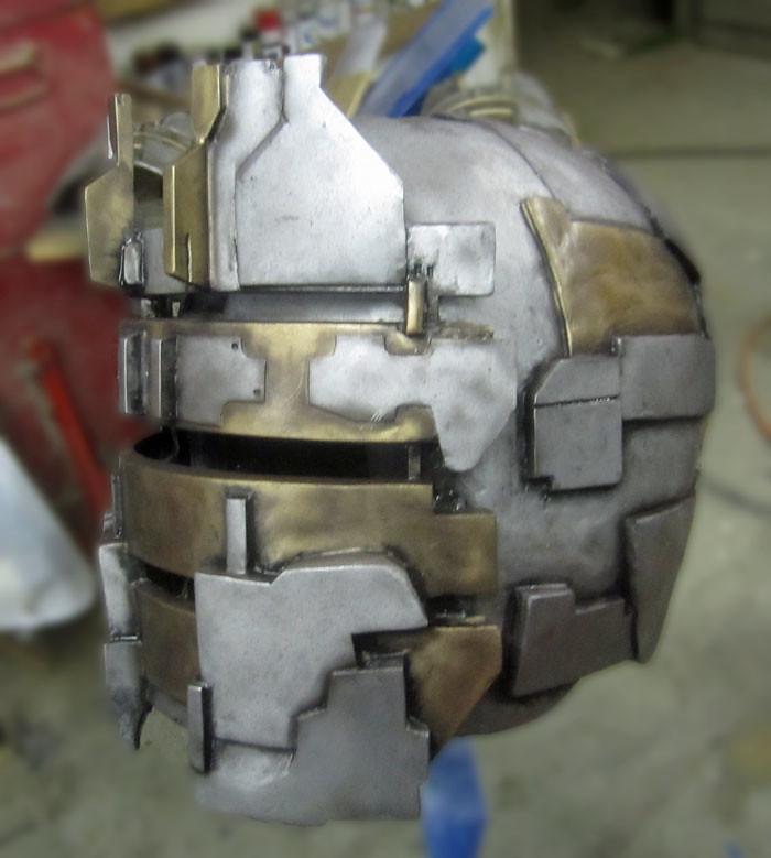 Extra Weathered Isaac Clarke helmet