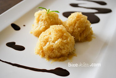 pineapple sorbet with chocolate (BiteDelite.com) Tags: food recipe dessert sweet chocolate pineapple pineapples nutella recipes cocoa ananas sorbet