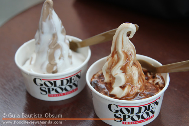 Golden Spoon frozen yogurts
