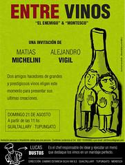 Mendoza: Los enólgos Alejandro Vigil y Matías Michelini adelanten sus nuevas creaciones