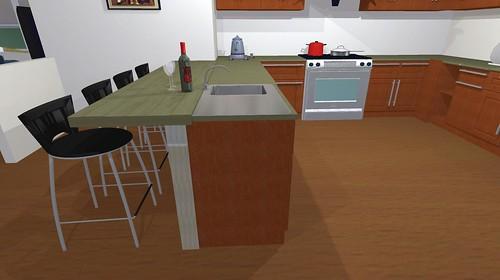 Countertop Height Overhang : breakfast bar--counter (36) or bar (42) height?