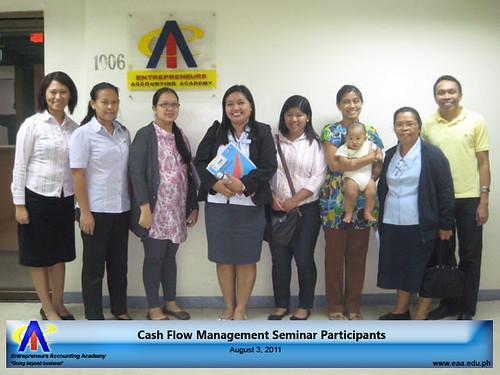 Cash Flow Management Seminar Participants by EAA 08-03-2011