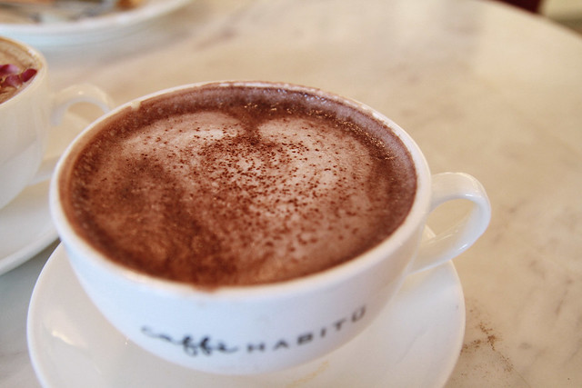 Caffe Habitu's Hot Chocolate