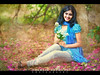 Girl with Flowers (Shabbir Ferdous) Tags: portrait eye girl beautiful smile happy photographer shot expression picture cheerful capture bangladeshi ef70200mmf28lisusm shabbirferdous canoneos1dmarkiv wwwshabbirferdouscom shabbirferdouscom