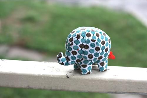 Elephant Softie-blue spots-08