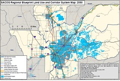 map of land use plan for Sacramento