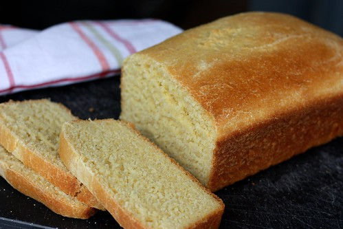 Yeasted Cornbread Loaf – Elly Says Opa!